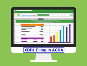 Filing in XBRL